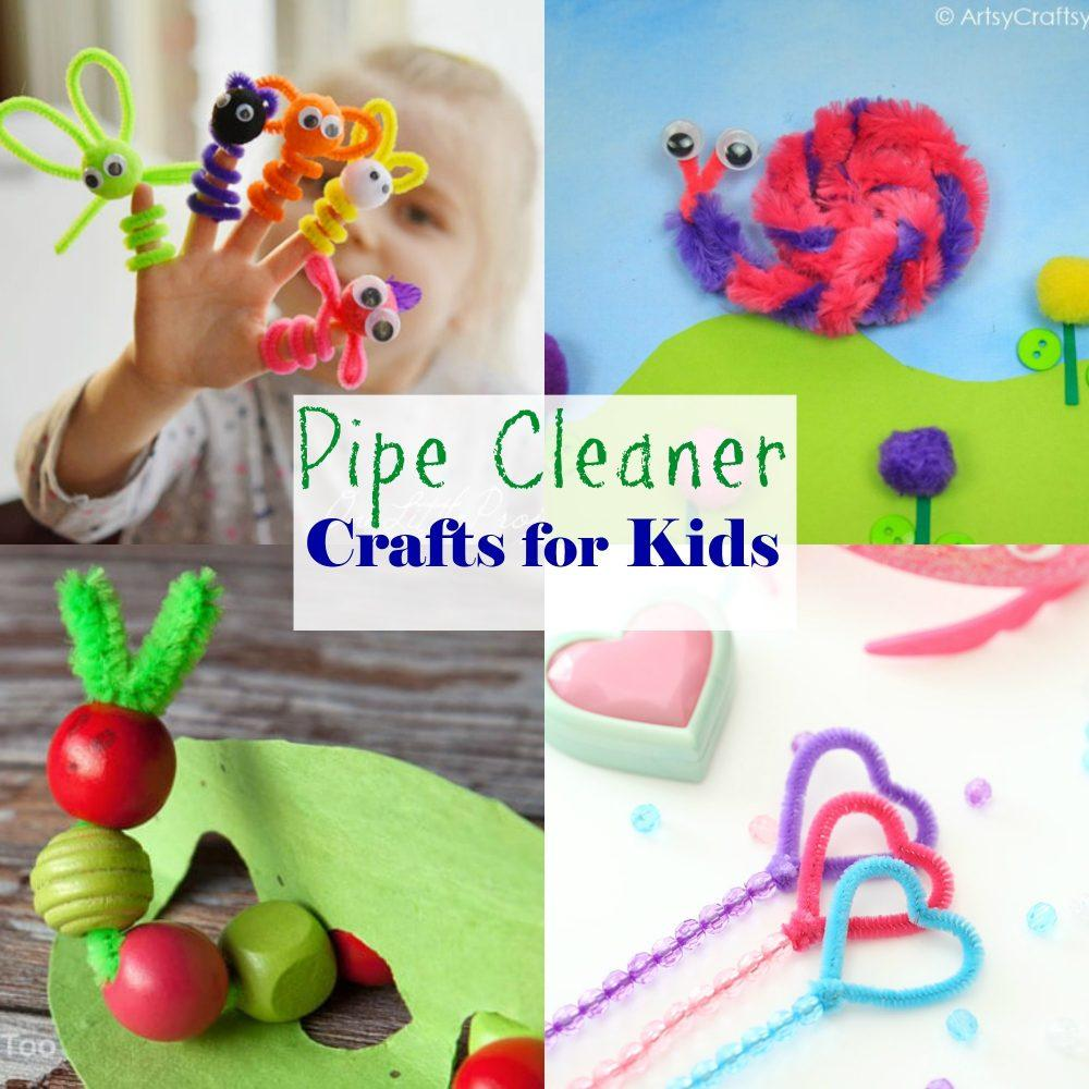 26 Pipe Cleaner Crafts For Kids