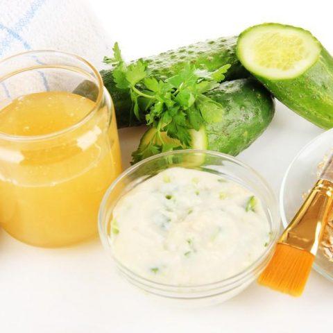 Cucumber Facial Scrub Recipe
