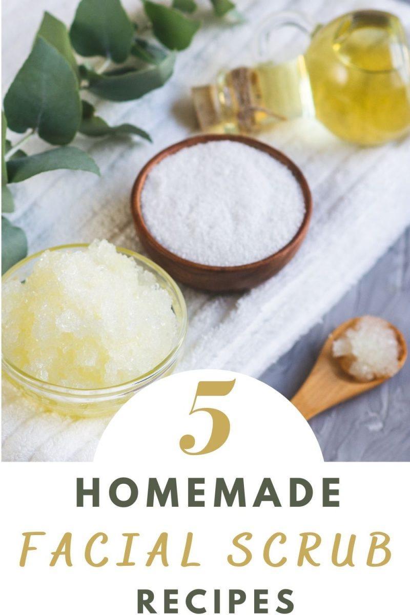 5 Homemade Facial Scrub Recipes For A Healthy Radiant Skin