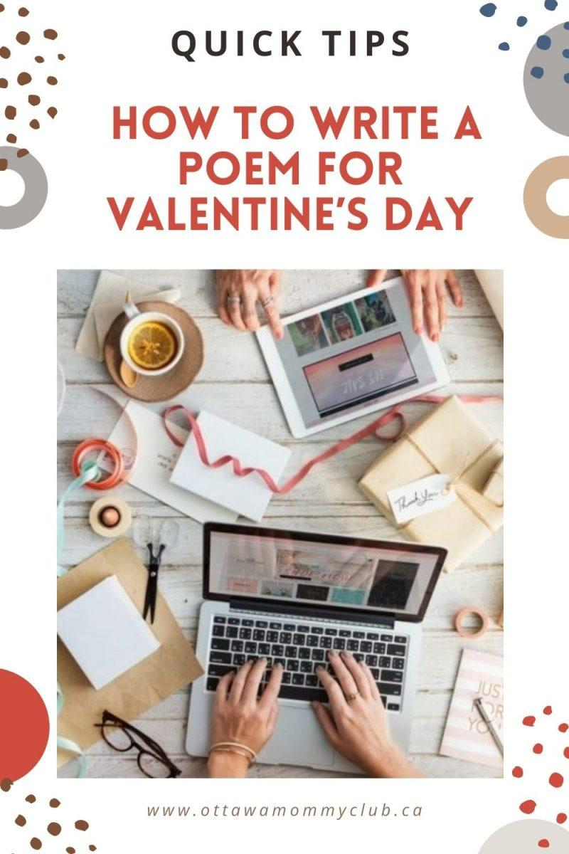 How to Write a Poem for Valentine's Day