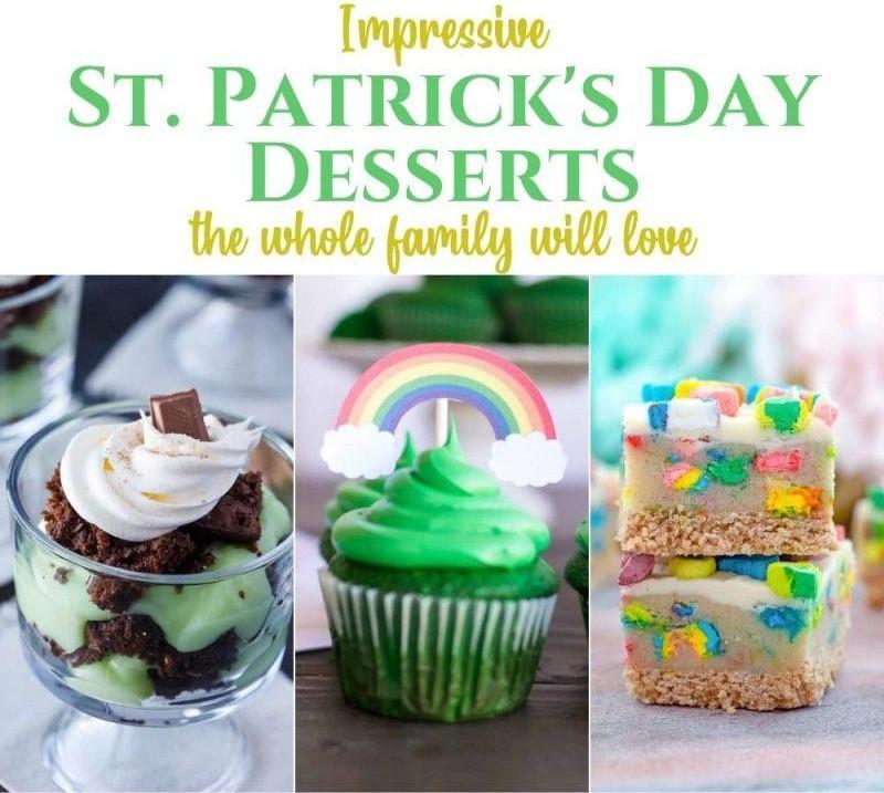 15 Impressive St. Patrick's Day Desserts the Whole Family Will Love