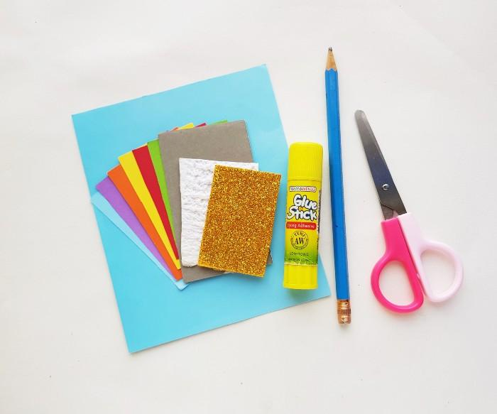 Pot of Gold Paper Craft  supplies