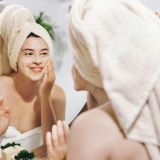 Rice Facial Scrub Recipe for Acne