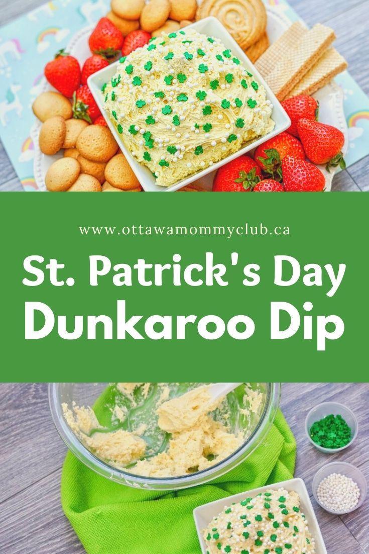 St. Patrick's Day Dunkaroo Dip