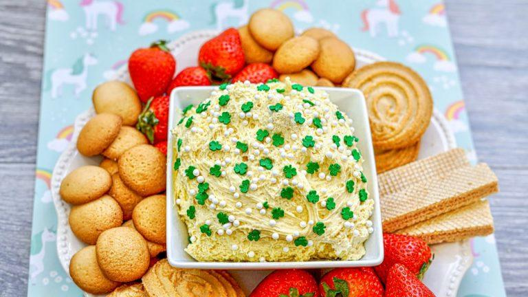 St. Patrick's Day Dunkaroo Dip Recipe For Kids