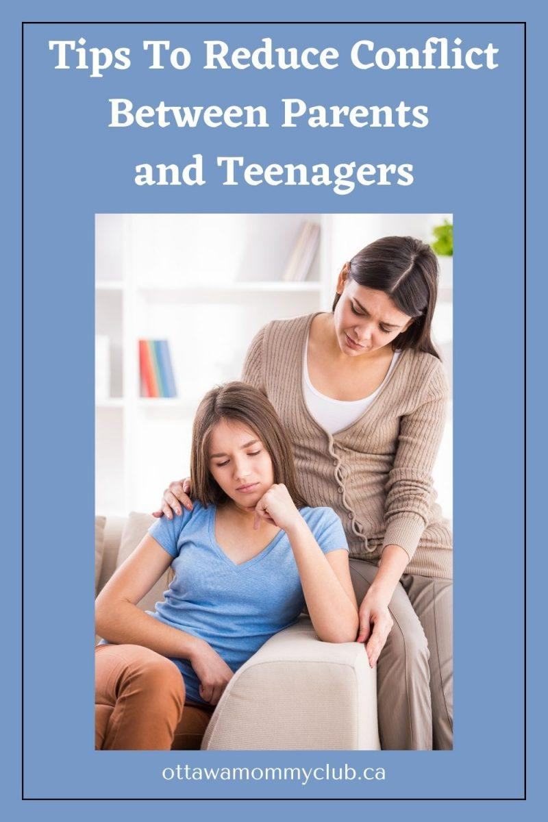 Tips To Reduce Conflict Between Parents and Teenagers