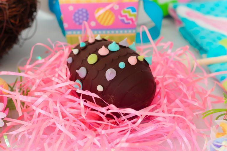 Breakable Chocolate Egg Recipe with Hidden Easter Candy Surprise