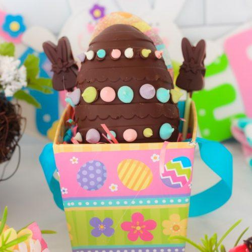 Breakable Chocolate Egg Recipe