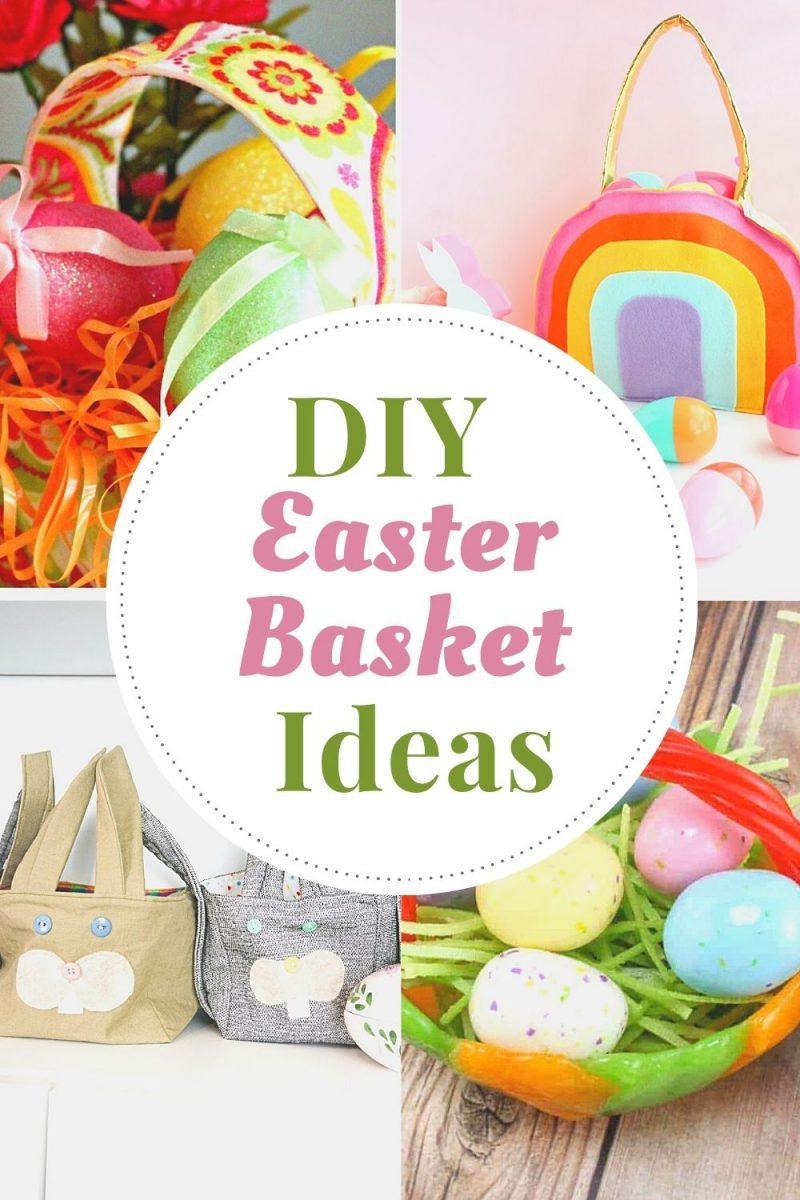 DIY Easter Basket Ideas