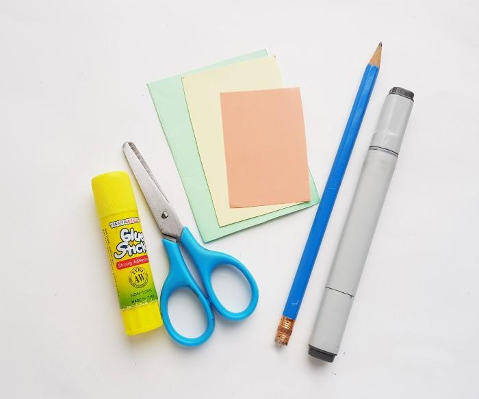 Easter Bunny Craft supplies