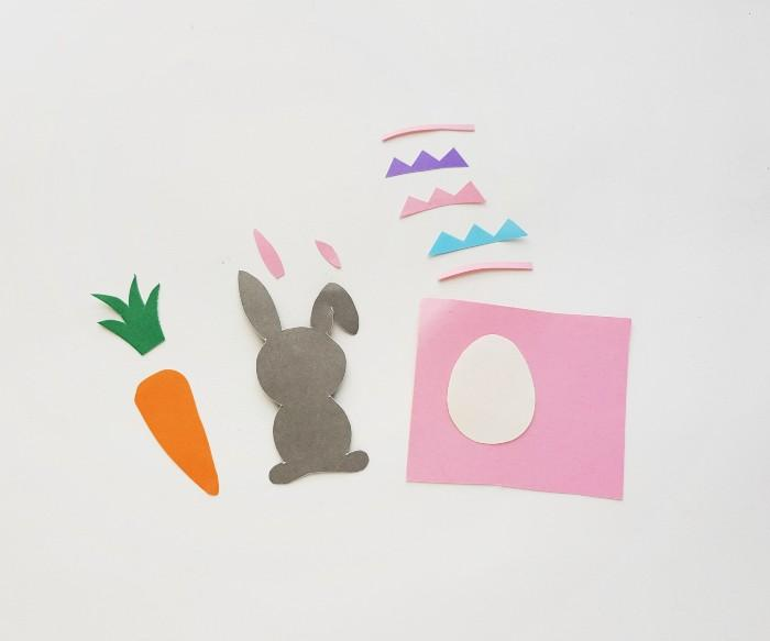 Easter Bunny Craft Scene step 5