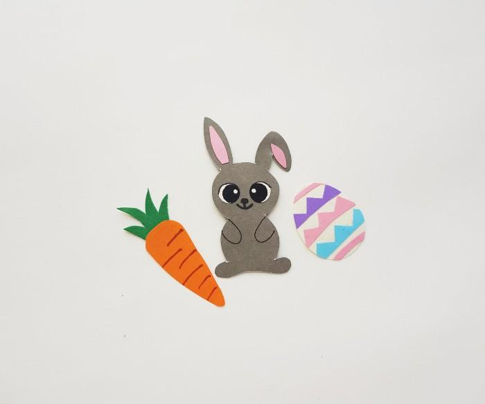 Easter Bunny Craft Scene step 7