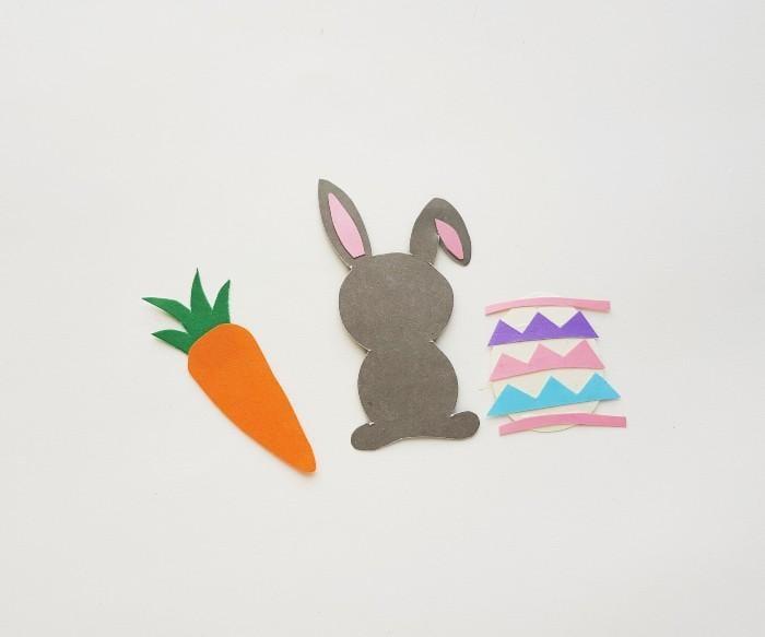 Easter Bunny Craft Scene step 6