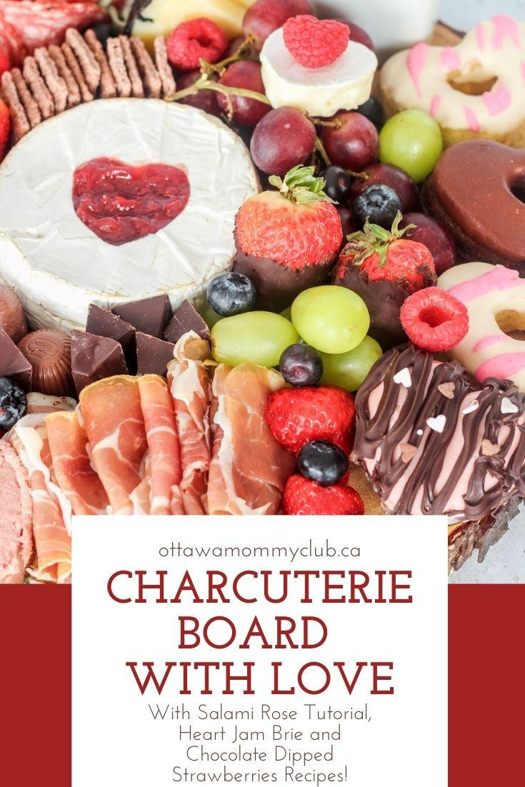 Charcuterie Board with Love for Special Occasions