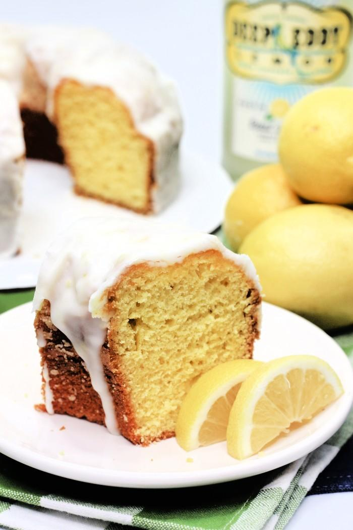 Lemon Drop Bundt Cake Recipe with Deep Eddy Lemon Flavoured Vodka