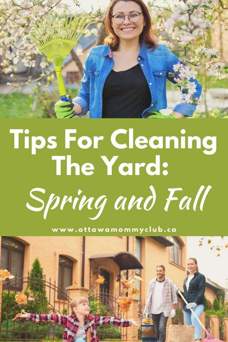 Tips For Cleaning The Yard: Spring and Fall