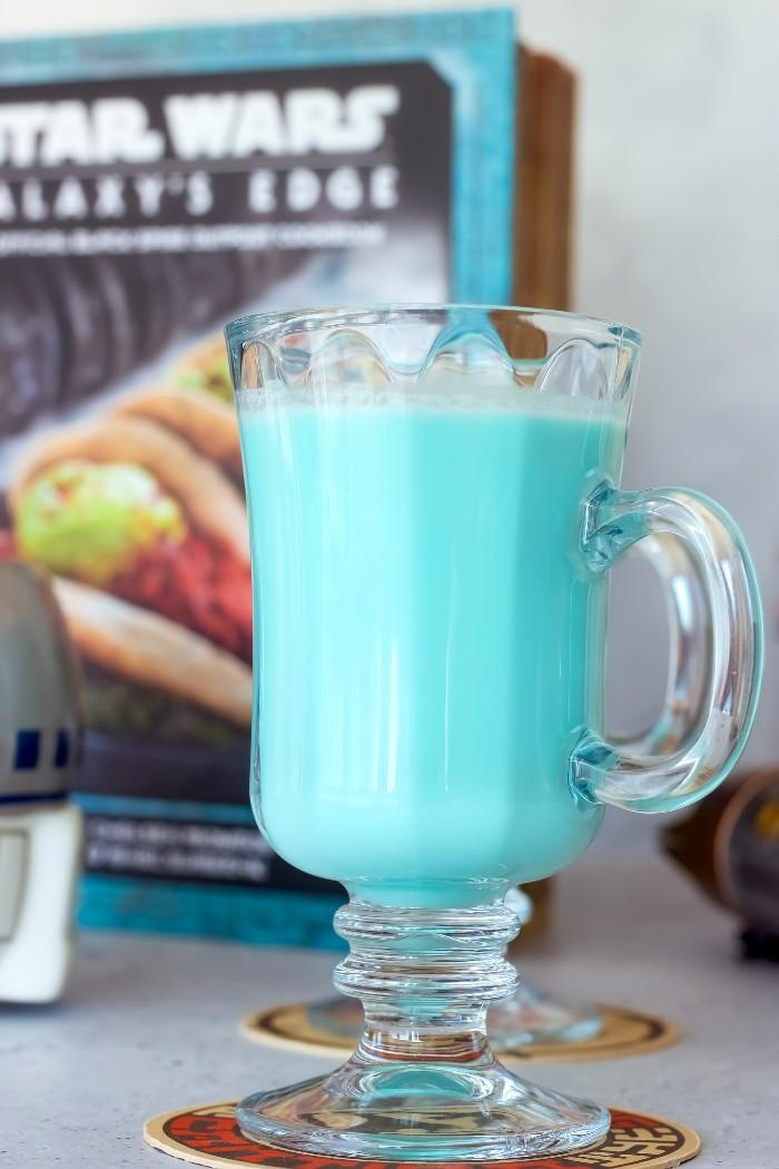 Blue Milk Cocktail