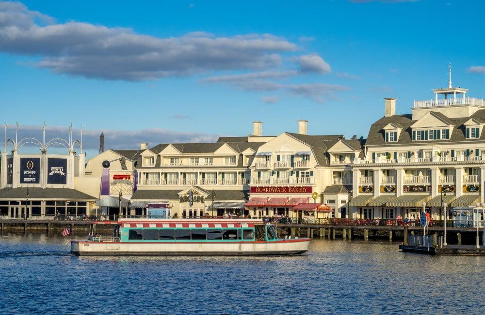 Boardwalk resort at Disney
