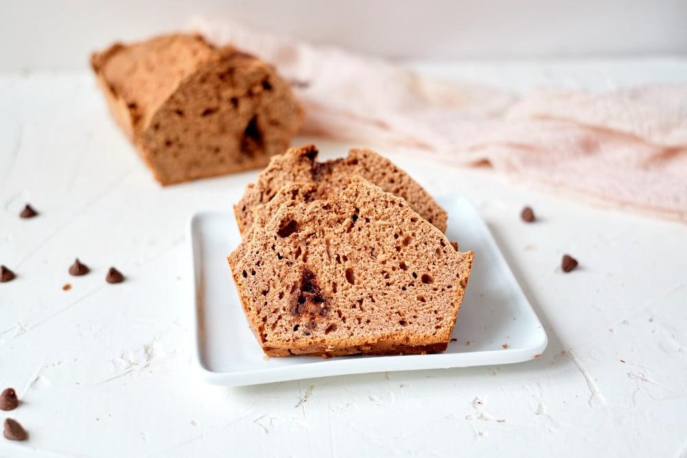 Chocolate Ice Cream Bread