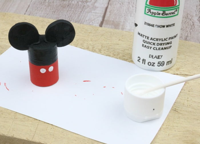 Mickey Mouse Wine Cork Craft step 6