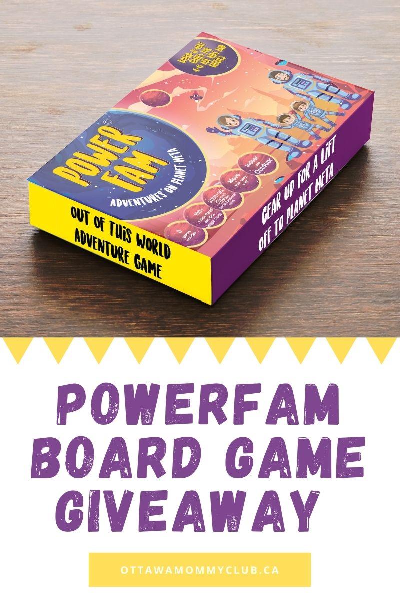 PowerFam Board Game giveaway