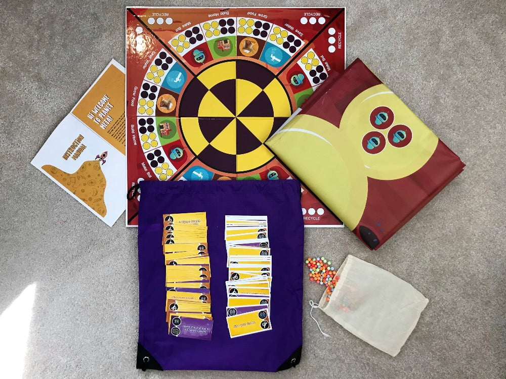 PowerFam Board Game + Play Mats