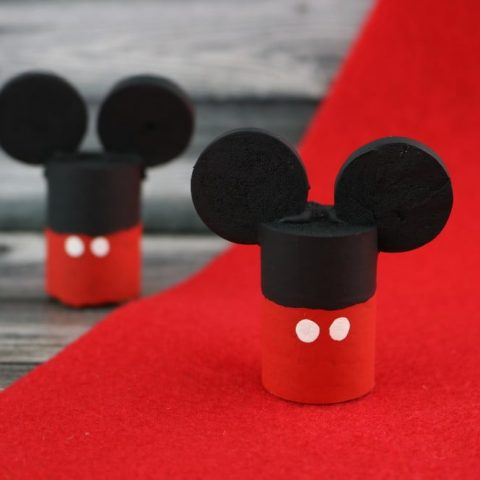 Wine Cork Craft Featuring Mickey Mouse Ears