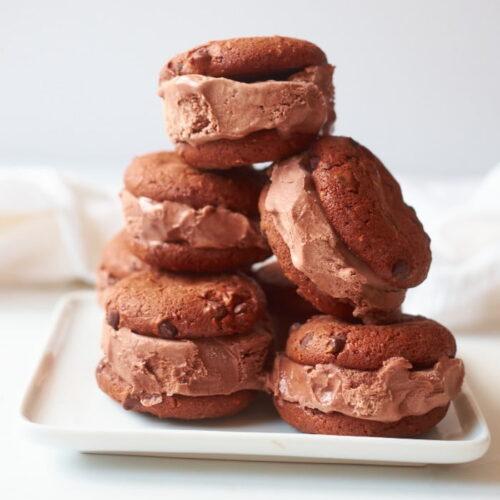 Cookie Ice Cream Sandwich Recipe