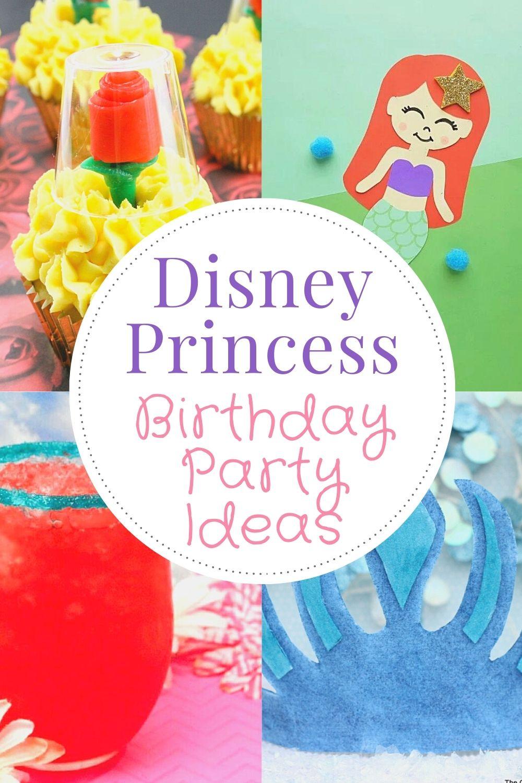 Disney Princess Birthday Party Ideas And Creative Tips
