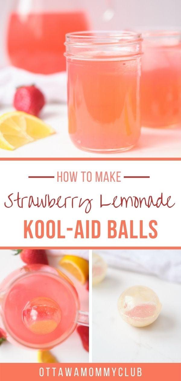 Kool-Aid Balls Recipe: The New Strawberry Lemonade Bomb Summer Beverage