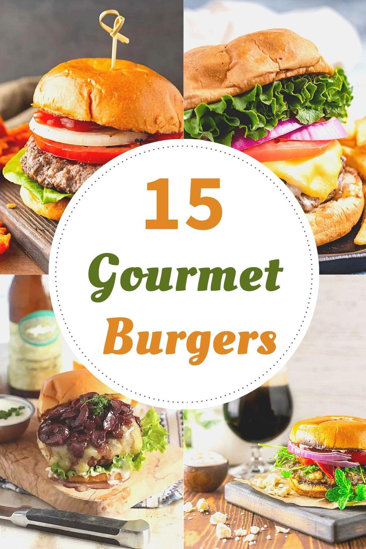 recipes for gourmet burgers