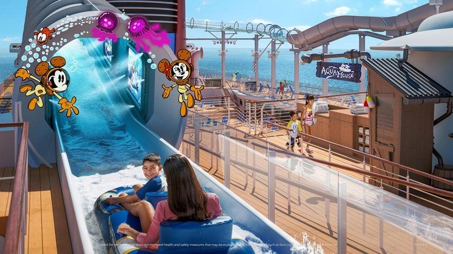 The Disney Wish AquaMouse