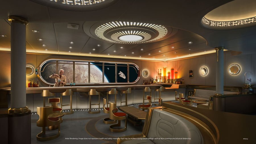 """The Disney Wish""""Star Wars: Hyperspace Lounge"""""""