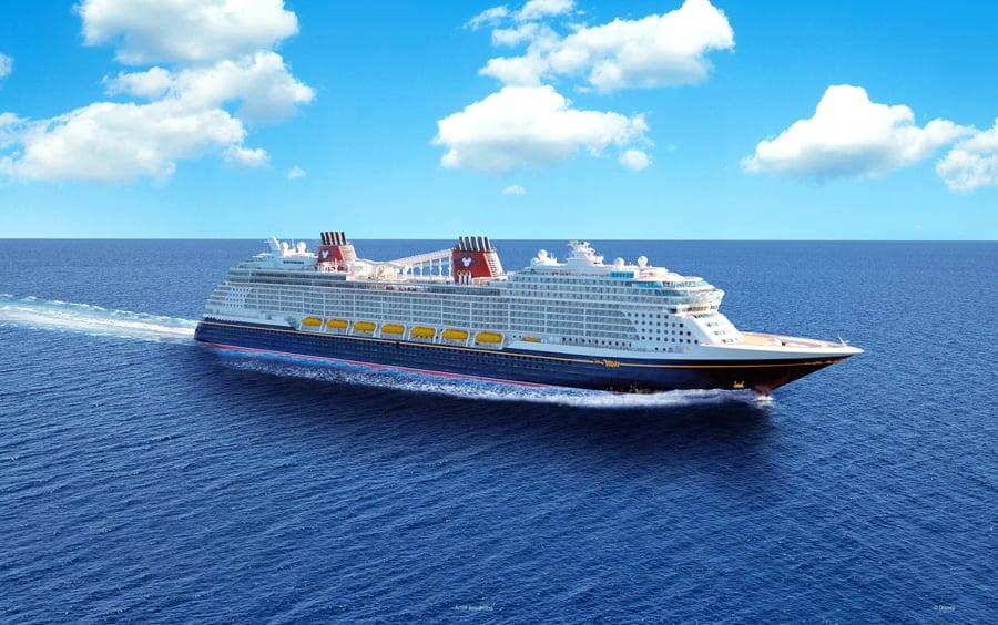 The Disney Wish Cruise Ship