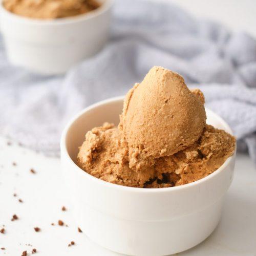 Homemade Chocolate Coffee Ice Cream