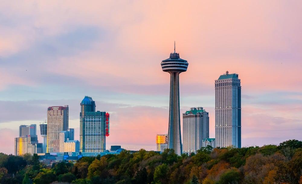The Skylon Tower in Niagara