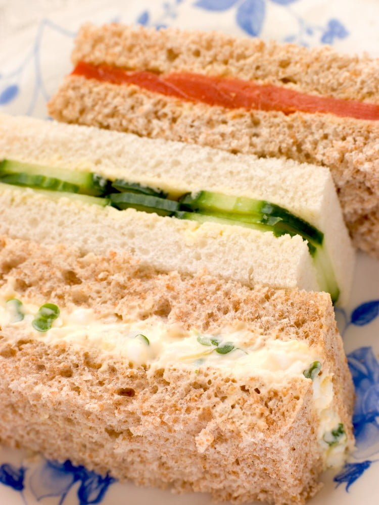 afternoon tea party sandwiches