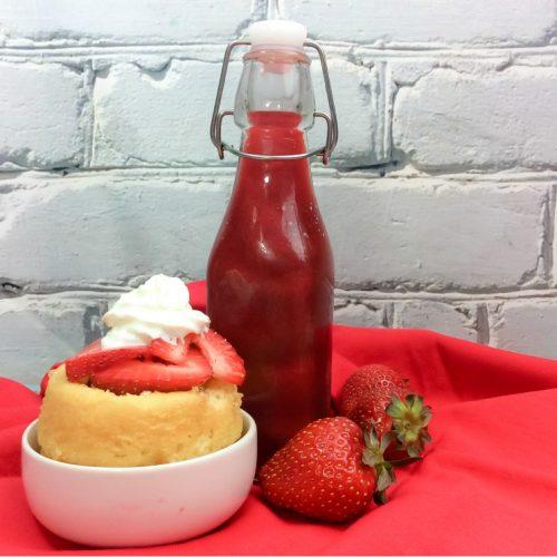 Homemade Strawberry Liqueur Recipe