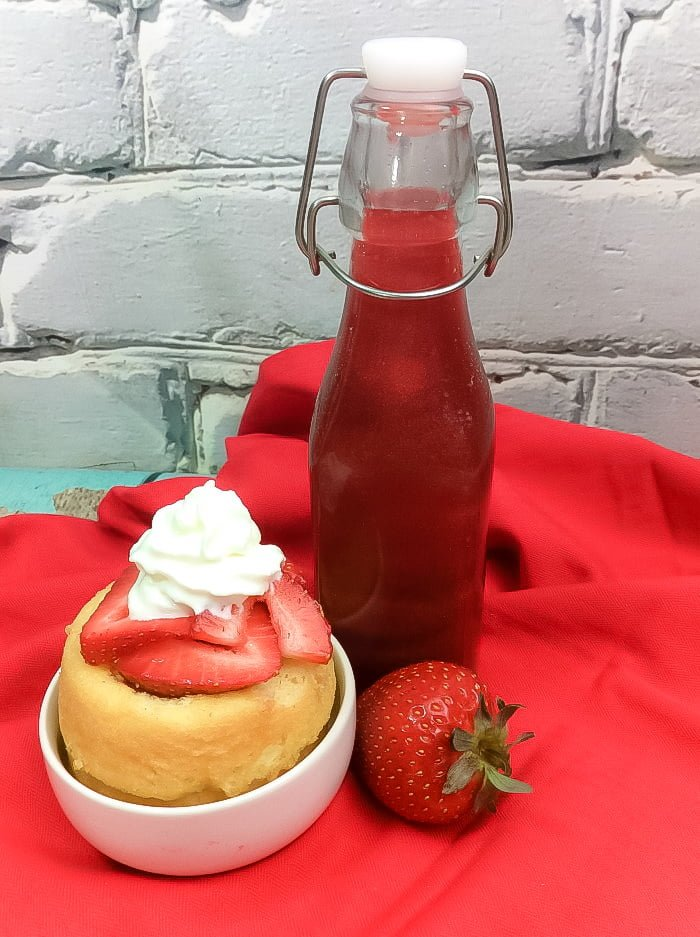 Homemade Fresh Strawberry Liqueur