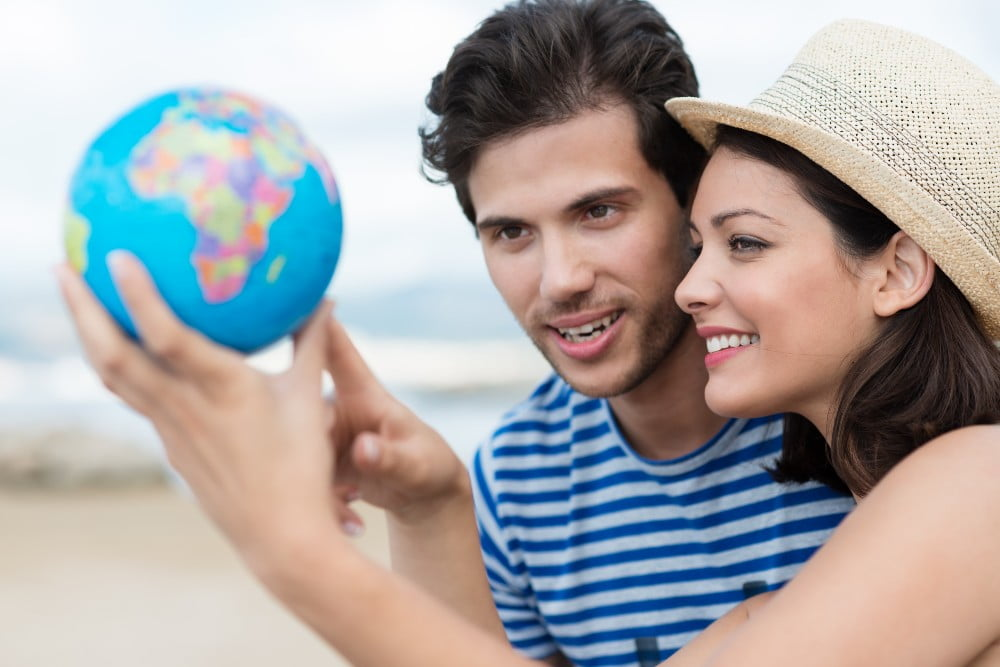 couple bitten by the travel bug