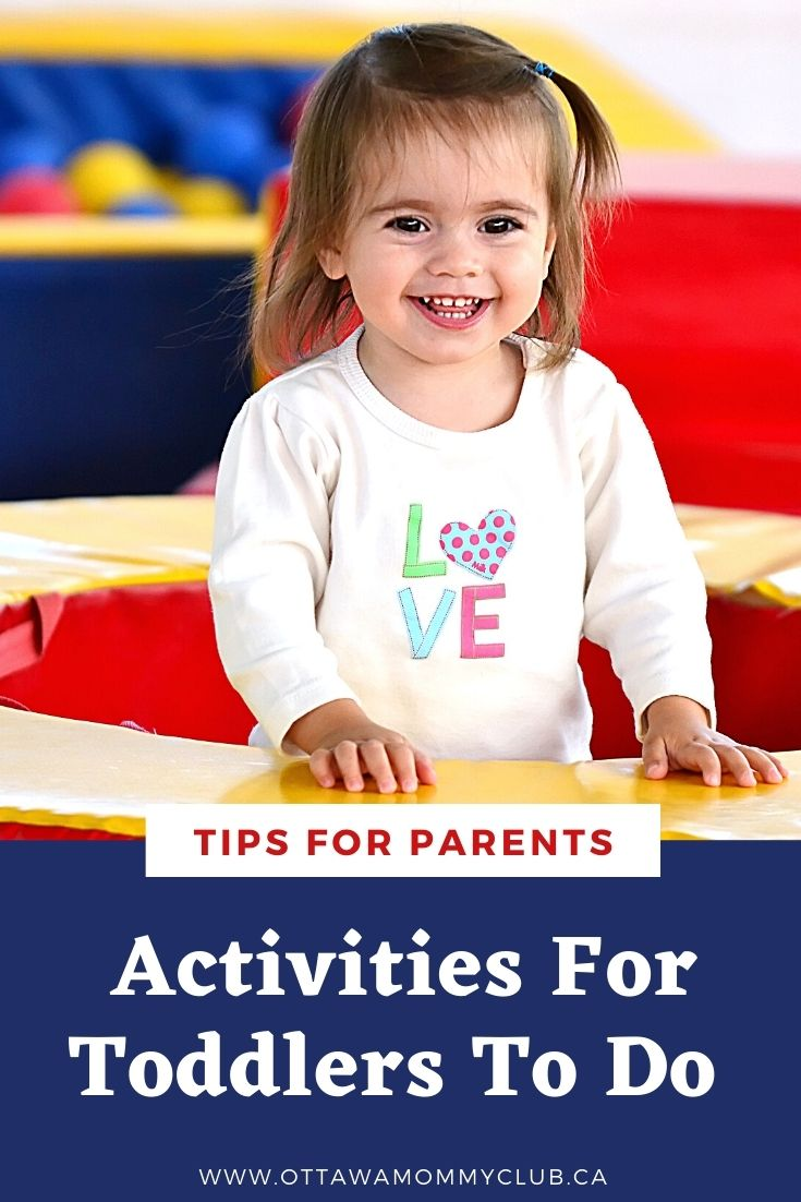 Activities For Toddlers To Do
