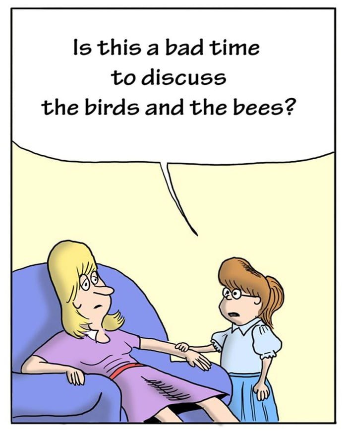 """""""the birds and the bees"""""""
