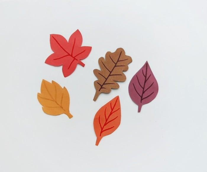 Fall Leaf Garland Step 3