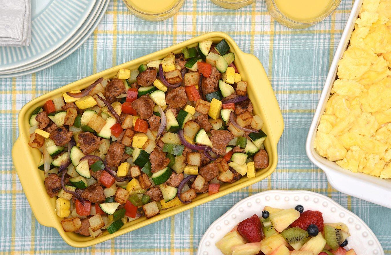 Skillet Turkey Breakfast Hash Recipe