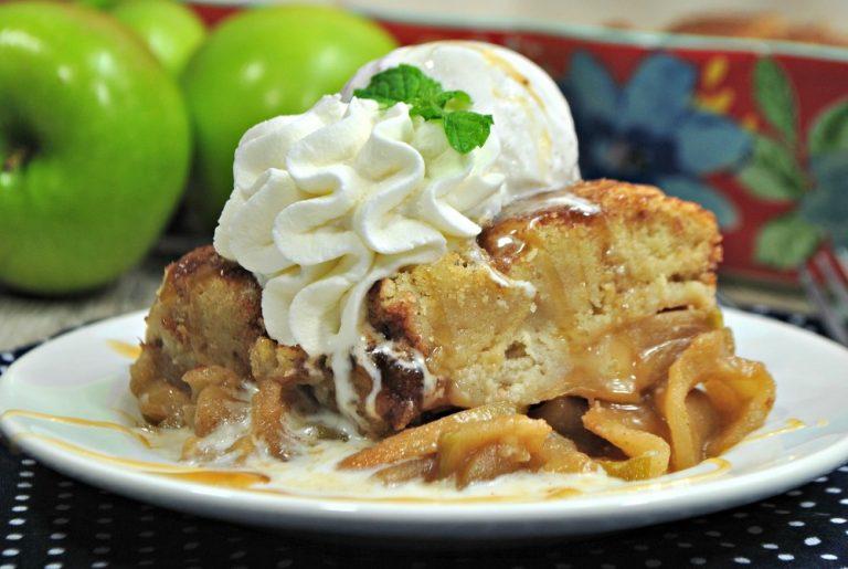 Snickerdoodle Apple Cobbler Recipe